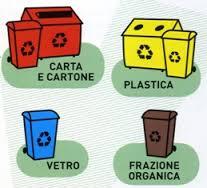 Ritiro sacchi raccolta differenziata a Borgaretto